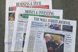 The Wall Street Journalสำนักข่าวที่รีวิวภาพยนตร์